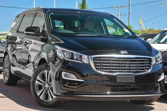 New Kia Carnival YP MY19 SLi, 2019 Kia Carnival YP MY19 SLi Aurora Black 8 Speed Sports Automatic Wagon