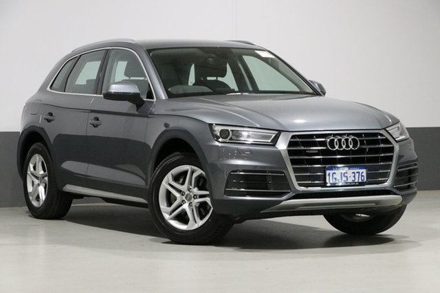 Used Audi Q5 FY MY18 2.0 TDI Quattro Design, 2017 Audi Q5 FY MY18 2.0 TDI Quattro Design Grey 7 Speed Auto S-Tronic Wagon