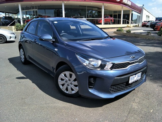 Used Kia Rio YB MY18 S, 2017 Kia Rio YB MY18 S Blue 4 Speed Sports Automatic Hatchback
