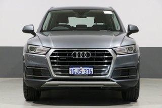 2017 Audi Q5 FY MY18 2.0 TDI Quattro Design Grey 7 Speed Auto S-Tronic Wagon.
