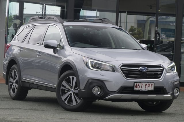 Demo Subaru Outback B6A MY18 3.6R CVT AWD, 2018 Subaru Outback B6A MY18 3.6R CVT AWD Ice Silver 6 Speed Constant Variable Wagon