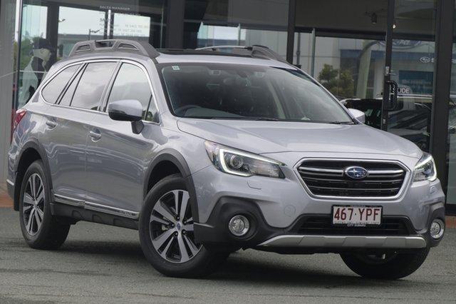 Demo Subaru Outback B6A MY18 3.6R CVT AWD, 2018 Subaru Outback B6A MY18 3.6R CVT AWD Ice Silver 6 Speed Constant Variable Wagon