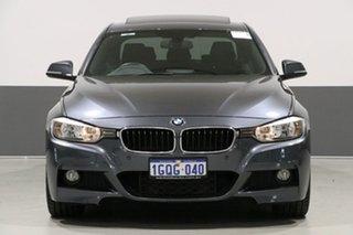 2013 BMW 320i F30 Grey 8 Speed Automatic Sedan.