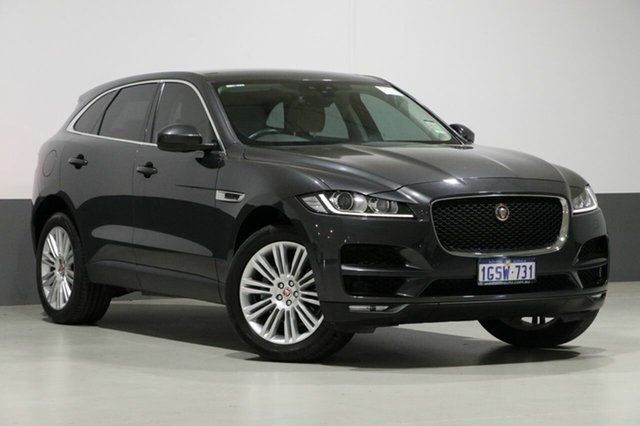 Used Jaguar F-PACE MY17 20d Prestige AWD, 2016 Jaguar F-PACE MY17 20d Prestige AWD Grey 8 Speed Automatic Wagon