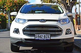 2015 Ford Ecosport BK Titanium PwrShift White 6 Speed Sports Automatic Dual Clutch Wagon