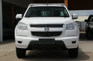 2014 Holden Colorado RG MY14 LX 4x2 White 6 Speed Sports Automatic Cab Chassis
