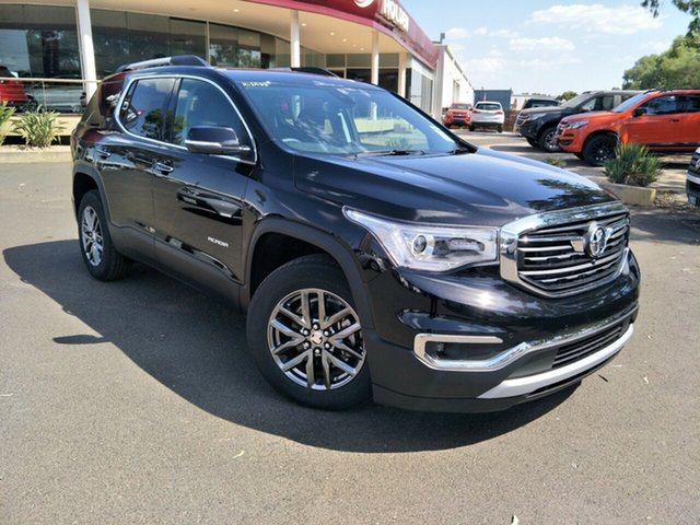 New Holden Acadia AC MY19 LTZ AWD, 2019 Holden Acadia AC MY19 LTZ AWD Mineral Black 9 Speed Sports Automatic Wagon