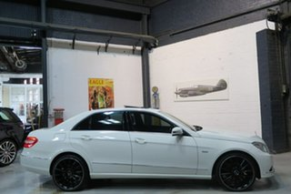 2010 Mercedes-Benz E220 W212 BlueEFFICIENCY Elegance White 5 Speed Sports Automatic Sedan.
