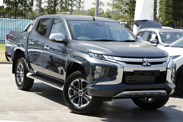 New Mitsubishi Triton MR MY19 GLS Double Cab, 2019 Mitsubishi Triton MR MY19 GLS Double Cab Graphite Grey 6 Speed Manual Utility