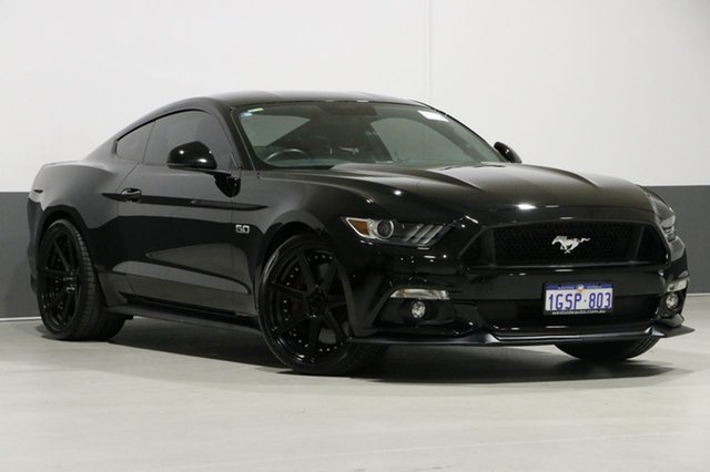 Used Ford Mustang FM Fastback GT 5.0 V8, 2015 Ford Mustang FM Fastback GT 5.0 V8 Black 6 Speed Automatic Coupe