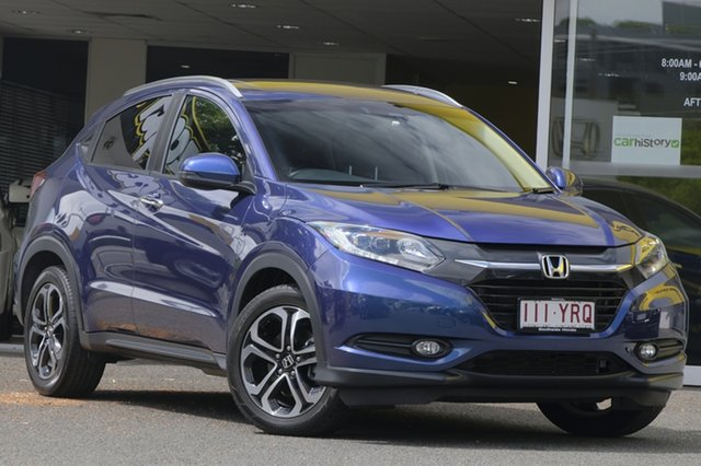 Used Honda HR-V MY16 VTi-L, 2016 Honda HR-V MY16 VTi-L Blue 1 Speed Constant Variable Hatchback