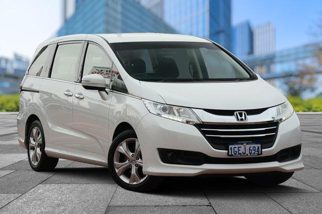 Used Honda Odyssey RC MY16 VTi, 2016 Honda Odyssey RC MY16 VTi White Orchid 7 Speed Constant Variable Wagon
