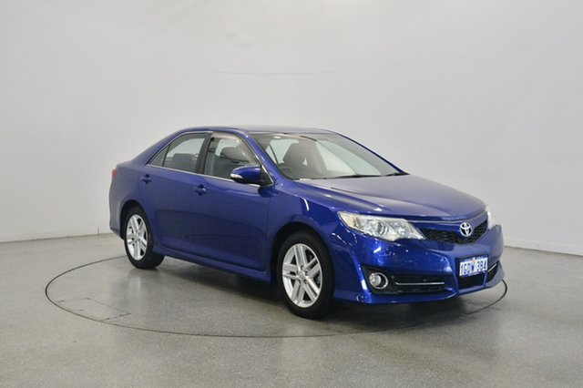 Used Toyota Camry ASV50R Atara R, 2013 Toyota Camry ASV50R Atara R Blue 6 Speed Sports Automatic Sedan