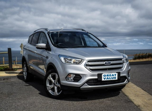 Used Ford Escape ZG Trend, 2018 Ford Escape ZG Trend Grey 6 Speed Sports Automatic Wagon