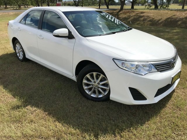 Used Toyota Camry ASV50R Altise, 2012 Toyota Camry ASV50R Altise Diamond White 6 Speed Automatic Sedan