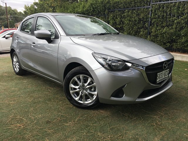 Demo Mazda 2 DJ2HAA Maxx SKYACTIV-Drive, 2018 Mazda 2 DJ2HAA Maxx SKYACTIV-Drive Aluminium 6 Speed Sports Automatic Hatchback