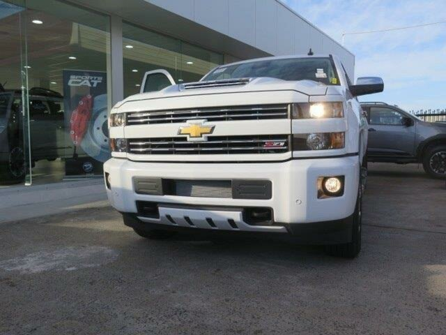 New Chevrolet Silverado CK MY18 2500 LTZ Custom Sport Edition, 2019 Chevrolet Silverado CK MY18 2500 LTZ Custom Sport Edition Summit White 6 Speed Automatic