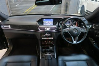2013 Mercedes-Benz E220 W212 MY13 7G-Tronic + Black 7 Speed Sports Automatic Sedan.