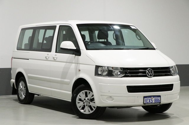 Used Volkswagen Multivan T5 MY15 Comfortline TDI340, 2015 Volkswagen Multivan T5 MY15 Comfortline TDI340 White 7 Speed Auto Direct Shift Wagon