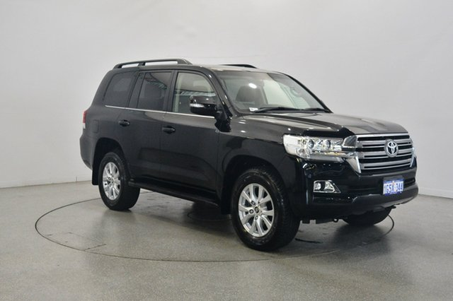 Used Toyota Landcruiser VDJ200R VX, 2017 Toyota Landcruiser VDJ200R VX Black 6 Speed Sports Automatic Wagon