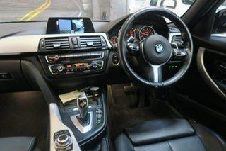2015 BMW 320d F30 MY1114 M Sport Black 8 Speed Sports Automatic Sedan.