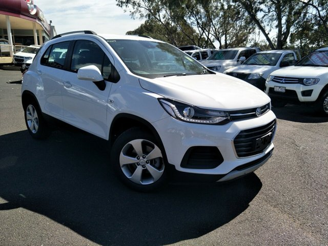 New Holden Trax TJ MY19 LS, 2019 Holden Trax TJ MY19 LS Summit White 6 Speed Automatic Wagon