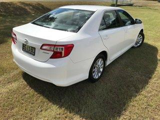 2012 Toyota Camry ASV50R Altise Diamond White 6 Speed Automatic Sedan