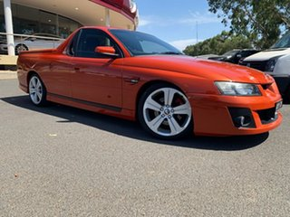 2006 Holden Special Vehicles Maloo Z Series MY06 R8 Orange 4 Speed Automatic Utility.