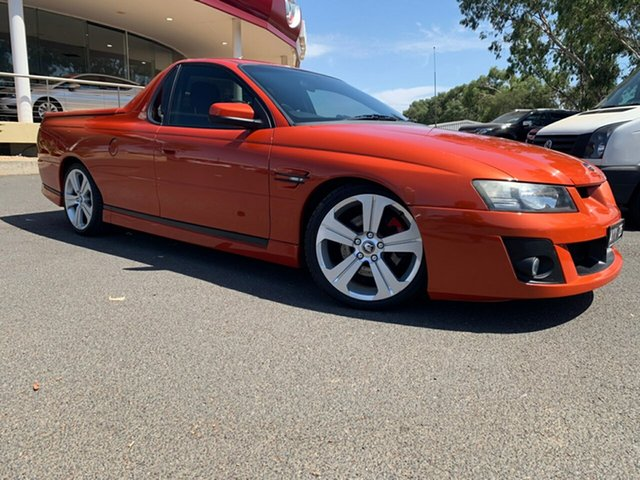 Used Holden Special Vehicles Maloo Z Series MY06 R8, 2006 Holden Special Vehicles Maloo Z Series MY06 R8 Orange 4 Speed Automatic Utility