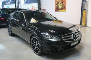 2013 Mercedes-Benz E220 W212 MY13 7G-Tronic + Black 7 Speed Sports Automatic Sedan