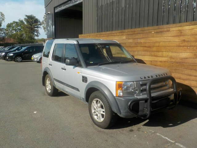 Used Land Rover Discovery 3  S, 2005 Land Rover Discovery 3 S Silver 6 Speed Sports Automatic Wagon