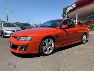 2006 Holden Special Vehicles Maloo Z Series 2 R8 Orange 4 Speed Automatic Utility