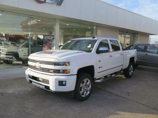 2019 Chevrolet Silverado CK MY18 2500 LTZ Custom Sport Edition Summit White 6 Speed Automatic