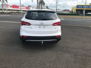 2014 Hyundai Santa Fe DM2 MY15 Active White 6 Speed Sports Automatic Wagon