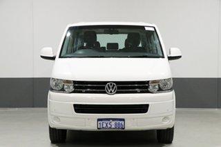 2015 Volkswagen Multivan T5 MY15 Comfortline TDI340 White 7 Speed Auto Direct Shift Wagon.