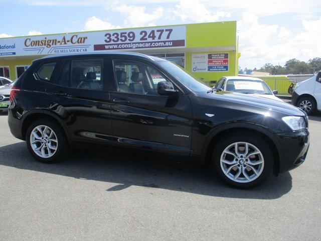 Used BMW X3 F25 MY1011 xDrive20d Steptronic, 2011 BMW X3 F25 MY1011 xDrive20d Steptronic Black 8 Speed Automatic Wagon