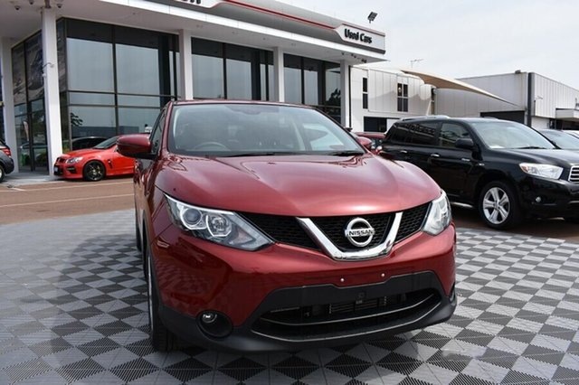 Used Nissan Qashqai J11 TS, 2017 Nissan Qashqai J11 TS Red 1 Speed Constant Variable Wagon