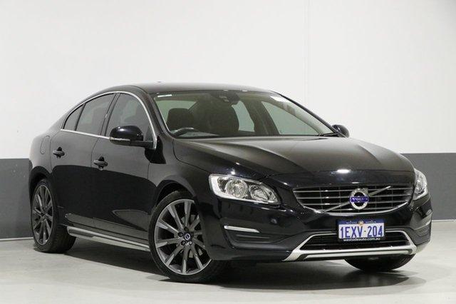Used Volvo S60 F MY15 T5 Luxury, 2015 Volvo S60 F MY15 T5 Luxury Black 8 Speed Automatic Sedan