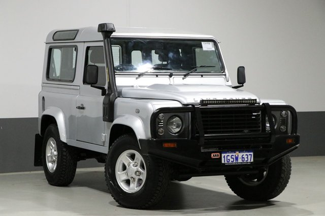 Used Land Rover Defender MY13 90, 2013 Land Rover Defender MY13 90 Silver 6 Speed Manual Wagon