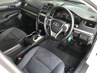 2012 Toyota Camry ASV50R Altise Diamond White 6 Speed Automatic Sedan.