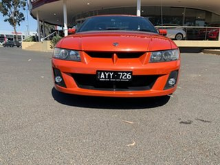 2006 Holden Special Vehicles Maloo Z Series 2 R8 Orange 4 Speed Automatic Utility.