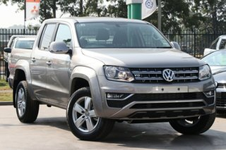 2018 Volkswagen Amarok 2H MY19 TDI550 4MOTION Perm Sportline Mojave Beige 8 Speed Automatic Utility.