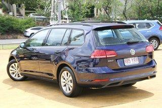 2018 Volkswagen Golf 7.5 MY18 110TSI DSG Trendline Atlantic Blue 7 Speed.