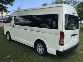 2014 Toyota HiAce KDH223R MY14 Commuter White 5 Speed Manual Bus.