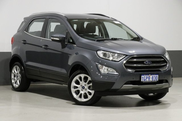 Used Ford Ecosport BL MY18 Titanium, 2018 Ford Ecosport BL MY18 Titanium Grey 6 Speed Automatic Wagon