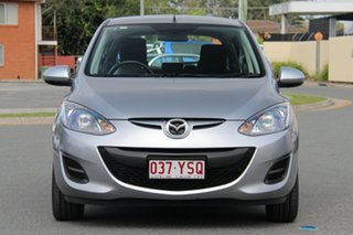2013 Mazda 2 DE10Y2 MY13 Neo Aluminium 5 Speed Manual Hatchback