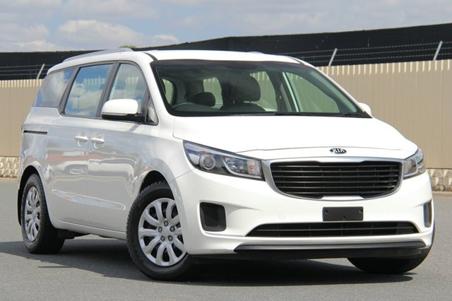 Used Kia Carnival YP MY16 S, 2016 Kia Carnival YP MY16 S White 6 Speed Sports Automatic Wagon