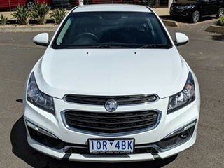 2015 Holden Cruze JH Series II MY15 SRi White 6 Speed Sports Automatic Hatchback.