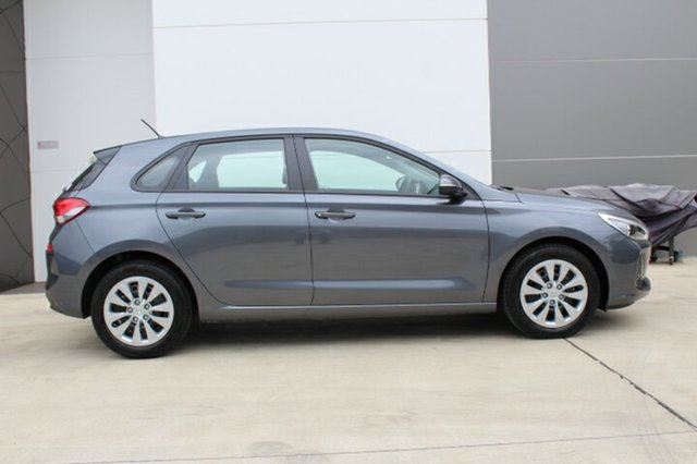 New Hyundai i30  , 2018 Hyundai i30 GO S.SENSE Iron Gray 7 Speed Automatic Hatchback