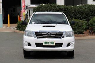 2013 Toyota Hilux KUN16R MY14 SR Double Cab 4x2 Glacier 5 Speed Manual Utility.